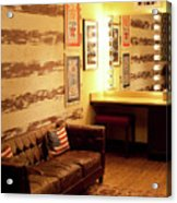 Grand Ole Opry House Backstage Dressing Room #5 In Nashville, Tennessee. Acrylic Print
