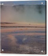 Grand Prismatic In Yellowstone Park Acrylic Print