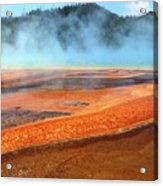 Grand Prismatic Spring, Yellowstone Acrylic Print