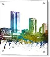 Grand Rapids Cityscape 01 Acrylic Print
