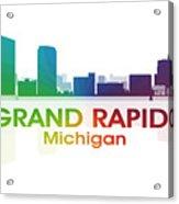 Grand Rapids Mi Acrylic Print