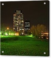 Grand Rapids Mi Under The Lights-5 Acrylic Print