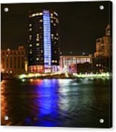 Grand Rapids Mi Under The Lights-6 Acrylic Print