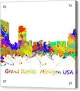 Grand Rapids  Michigan Usa Acrylic Print