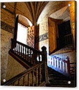 Grand Staircase 2 Acrylic Print by Mexicolors Art Photography