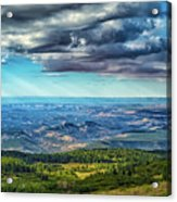 Grand Staircase - Escalante National Monument Acrylic Print