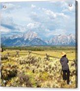 Grand Teton Photograpers Acrylic Print