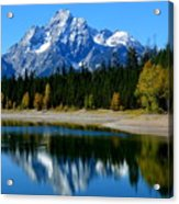 Grand Tetons 2 Acrylic Print by Carrie Putz