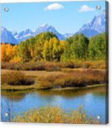 Grand Tetons 3 Acrylic Print by Carrie Putz