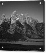 Grand Tetons  Acrylic Print