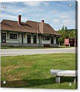 Grand Trunk Railroad - Gorham New Hampshire Acrylic Print