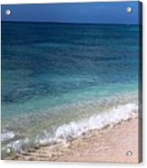 Grand Turk Ocean Beauty Acrylic Print