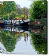 Grand Union Canal Cowley West London Acrylic Print
