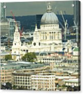 Grand View Of Central London Acrylic Print