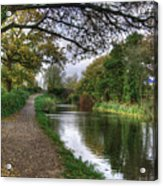 Grand Western Canal At Crown Hill Acrylic Print