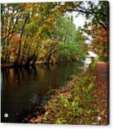 Grand Western Canal At Westcott Acrylic Print