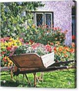 Grandad's Wheelbarrow Acrylic Print