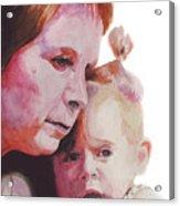 Grandchild Acrylic Print