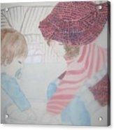 Grandchildren Playing Acrylic Print
