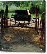 Grandfathers Buggy Acrylic Print
