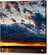 Grandiose Sky On Grand Lake Acrylic Print