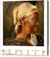 grandma - the people of Haiti series poster Acrylic Print