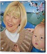 Grandma And Kaidin Acrylic Print