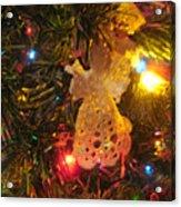 Grandmas Christmas Angel Acrylic Print