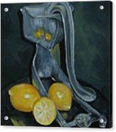 Grandma's Lemons Acrylic Print