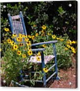 Grandma's Rocking Chair Acrylic Print