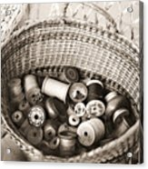 Grandma's Sewing Basket Acrylic Print