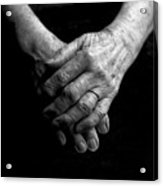 Grandmother's Hands Acrylic Print