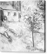 Grandpa's Backyard Iv Acrylic Print