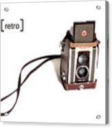 Grandpa's Camera Acrylic Print
