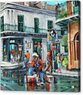 Grandpas Corner Acrylic Print