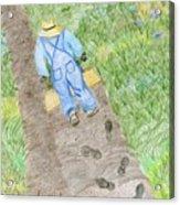Grandpa's Footsteps Acrylic Print
