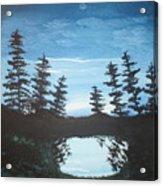Grandpa's Piney Pond Acrylic Print