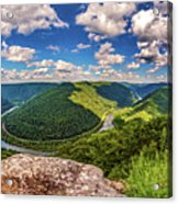 Grandview West Virginia Acrylic Print