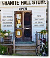 Granite Hall Store  Acrylic Print