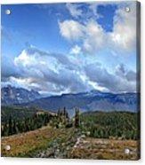 Granite Park - Glacier National Park Acrylic Print