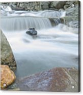 Granite Pool Acrylic Print