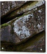 Granite Rock Close Up Acrylic Print
