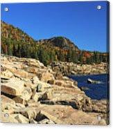 Granite Rocks At The Coast Acrylic Print