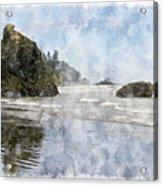 Granite Stacks Olympic Park Acrylic Print