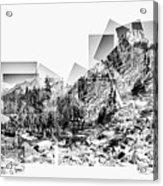 Granite Steps Eagle Lake Sequoia National Park California 2012 Acrylic Print