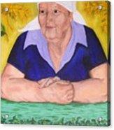 Granny Katiya Acrylic Print