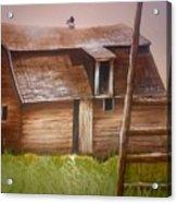 Granny's Barn Acrylic Print