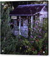 Granny's Garden Acrylic Print
