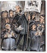 Grant Cartoon, 1880 Acrylic Print