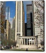 Grant Park Chicago Acrylic Print